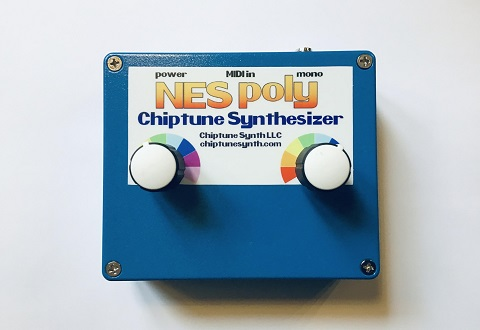 The Arcano NES Poly Chiptune Synthesizer