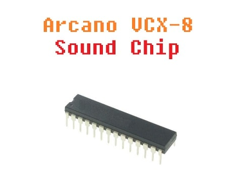 The Arcano VCX-8 Sound Chip PSG